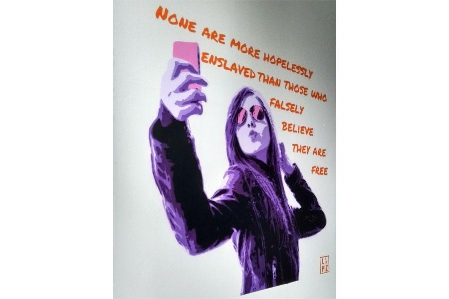 Goethe – Selfie – Wall