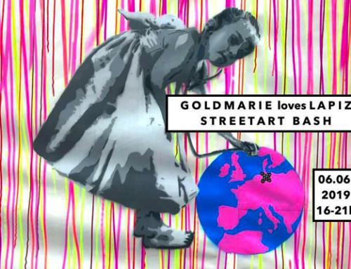 Goldmarie loves LAPIZ – Street Art Bash