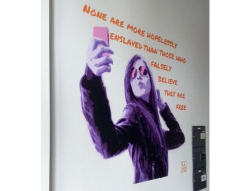 """New Mural of """"Goethe-Selfie"""" in Berlin"""