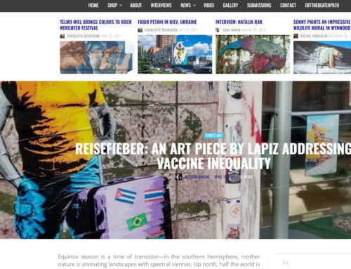 Reisefieber and Vaccine inequality – New intervention